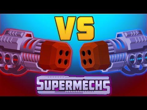 SUPER MECHS - DEVASTATION SWARM VS ELECTRIC STORM!!!