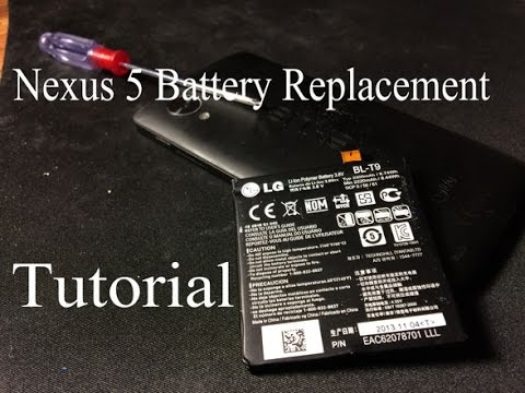 How-To Replace a Nexus 5 Battery! DIY