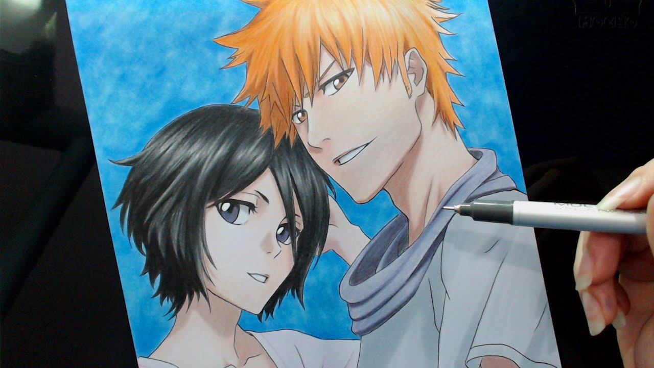 Rukia And Ichigo (Bleach)