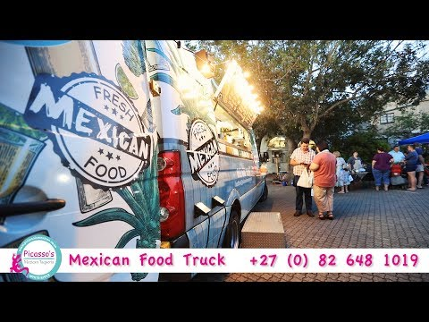 Picasso's Mexican Restaurant Food Truck Mpumalanga | Africa Travel Channel