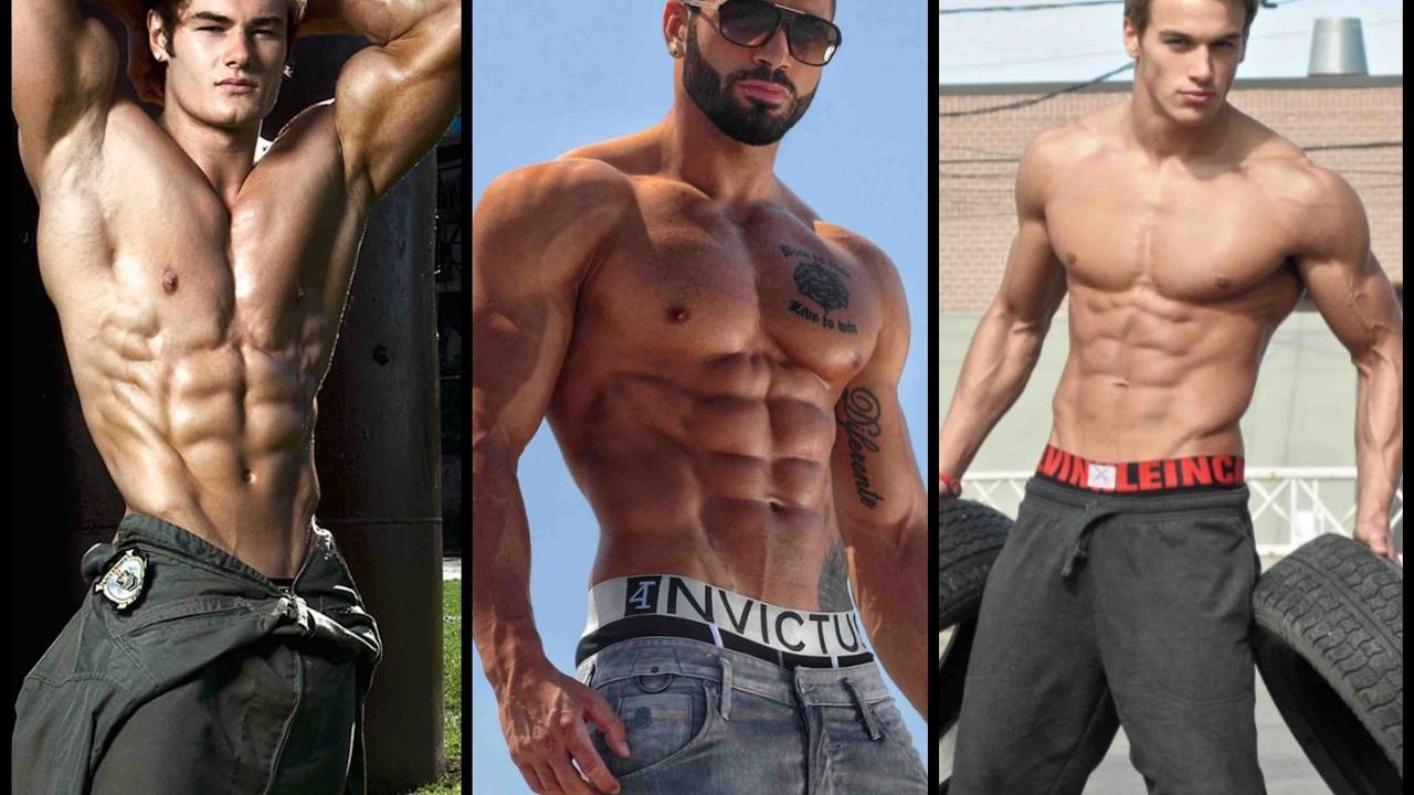 Top Ten Male Fitness Model 2017 Youtube