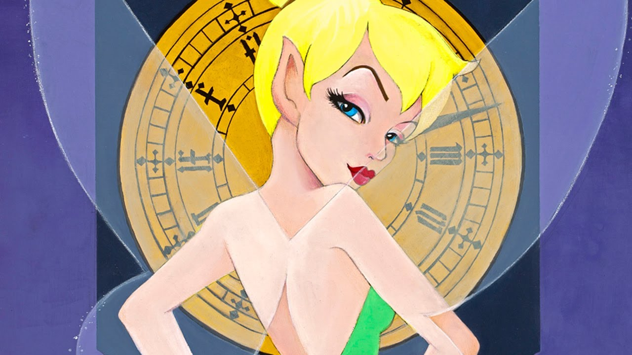 Tinker Bell Speed Paint Demo by Leilani Joy - YouTube