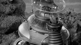 A ROBOT LOST IN SPACE - The B9 ROBOT sings about being lost in space