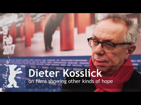 Dieter Kosslick introducing Berlinale 2017