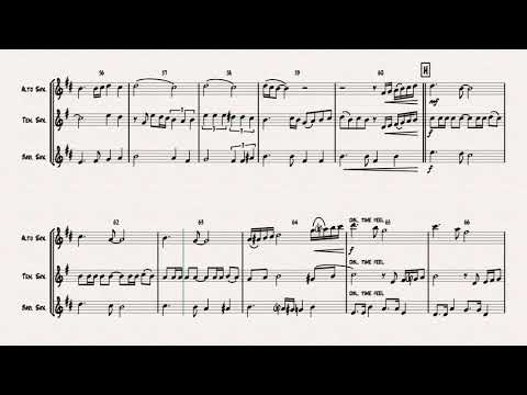 Besame Mucho Dm ( Kiss me a lot ) - World famous Rumba - Saxophone Trio
