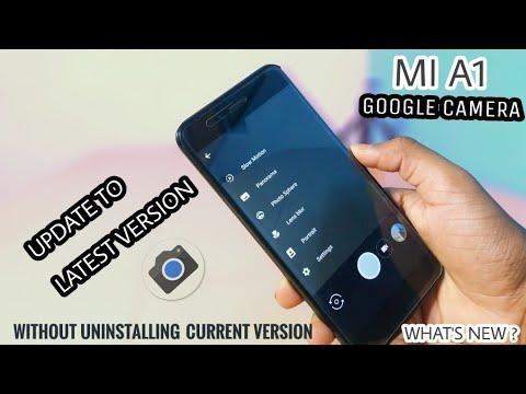google camera update for mi a1
