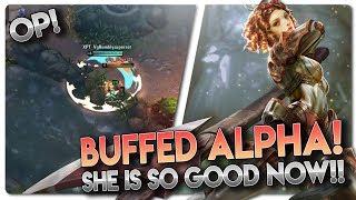 BUFFED ALPHA IS SO GOOD!! Vainglory 5v5 [Ranked] Gameplay - Alpha |WP| Bot lane Gameplay