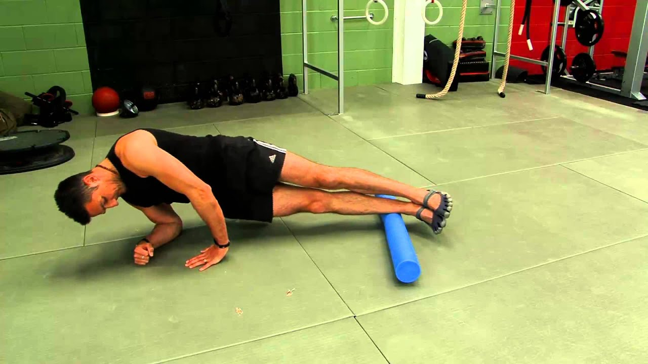 Peroneal muscles pilates foam roller exercise - YouTube