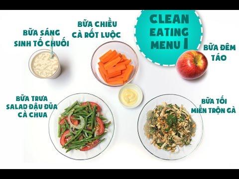 Clean Eating Recipes | Day 1 | Món ăn giảm cân (Thực đơn ăn sạch giảm cân) | Ngon Plus