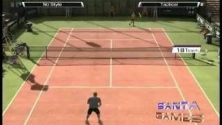 Virtua Tennis 4 - Análise Santa Games