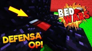 COMO CONSEGUIR LA MEJOR DEFENSA OP EN BEDWARS! (Minecraft Bedwars)