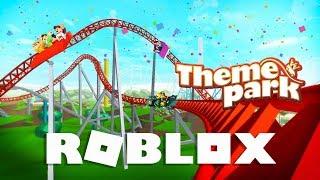 • ☀️ Roblox - Theme Park /w Piter ☀️ •  Wakacje w Parku Rozrywki!