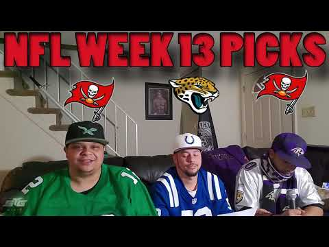 NFL WEEK 13 PICKS STG VS HJ VS RH