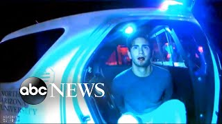 Police body cameras capture aftermath of college party shooting  Part 2