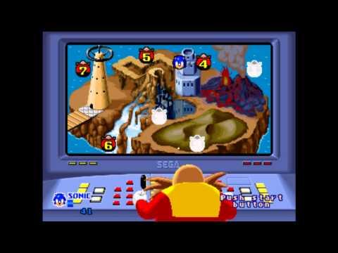 SegaSonic the Hedgehog - Arcade Long Play
