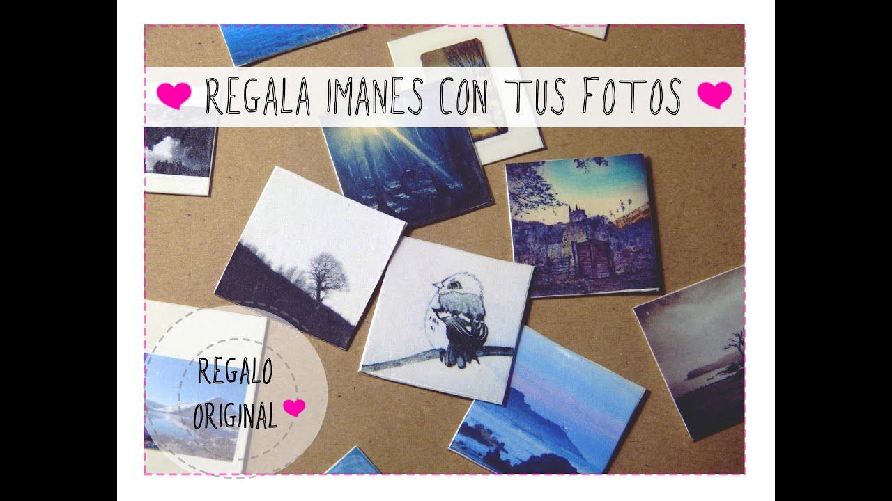 Regalos originales haz imanes con tus fotos cumplea os - Regalos originales para casa ...