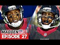 ANDY'S NEW TEAMMATES   Madden 16 Career Mode Gameplay - Year 3   Ep.27