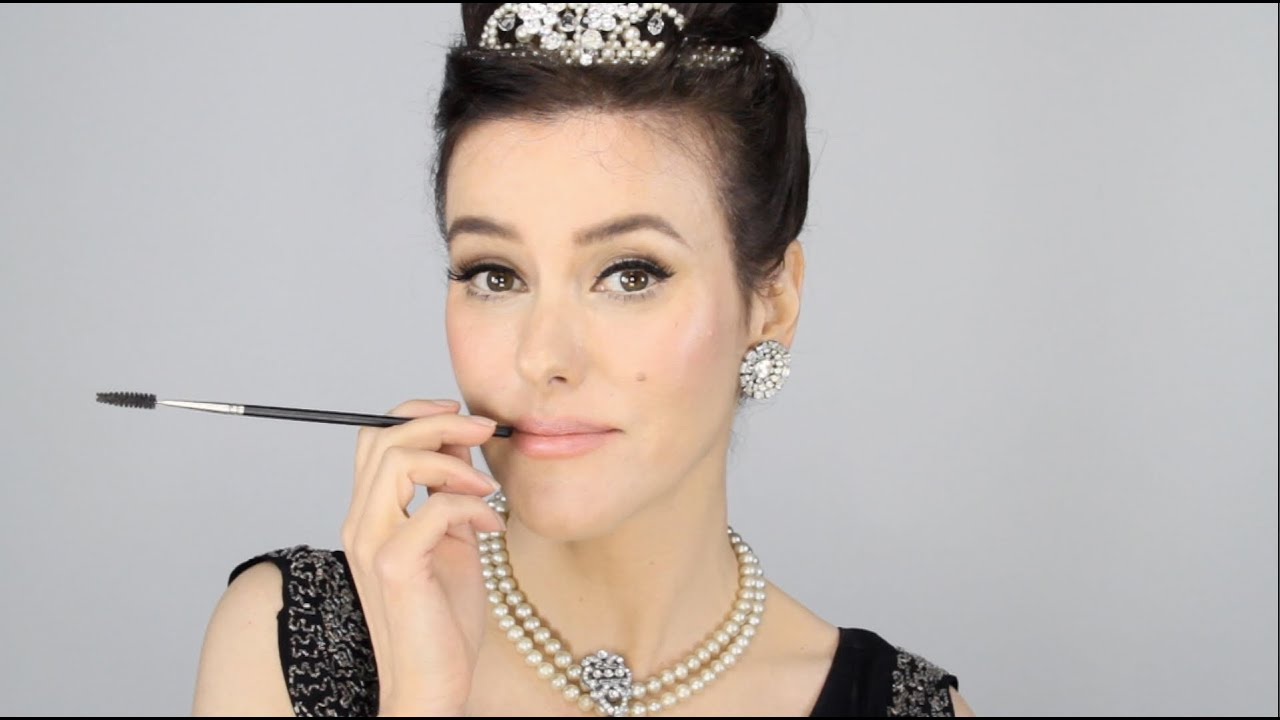 Audrey Hepburn - Breakfast at Tiffany's Inspired Makeup Tutorial ...