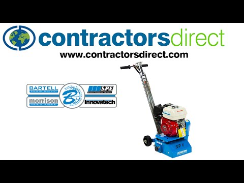 The Bartell SP8 Gas Scarifier Training Video