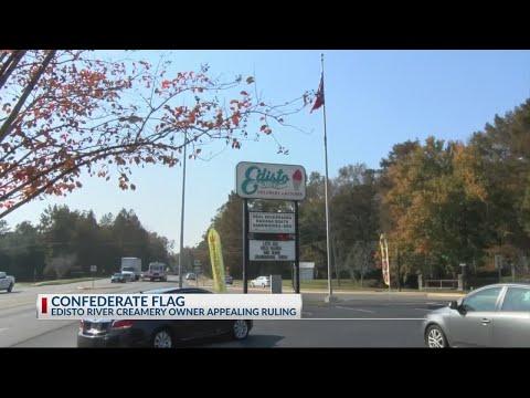 Orangeburg business owner appeals Confederate flag ruling