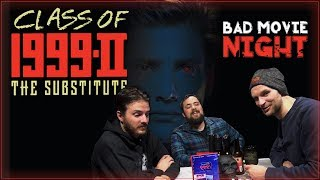 Class of 1999 II: The Substitute (1994) Bad Movie Review
