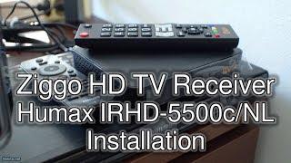 Installation Ziggo Digital TV Receiver (Humax IRHD-5500c/NL)