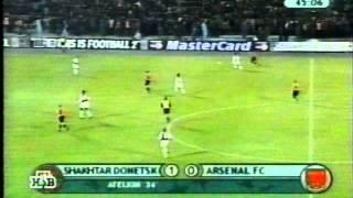 ЛЧ 2000/2001. Шахтёр Донецк - Арсенал Лондон 3-0 (07.11.2000)