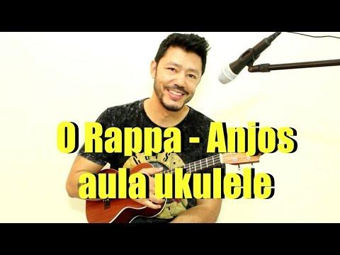 """O Rappa - Anjos """"Pra Quem Tem Fé"""" - Video aula Ukulele"""