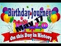 Birthday Journey May 17 New