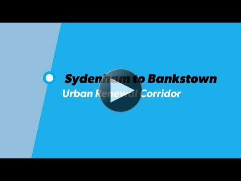 Sydenham - Bankstown Urban Renewal Corridor