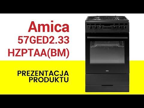 Kuchnia Amica 57ged2 33hzptaa Bm Youtube