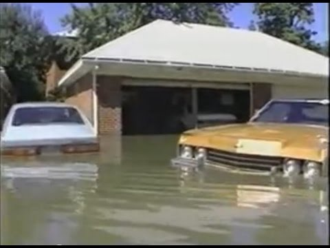NEWS COVERAGE - Flood of 1987 Elmhurst, Addison, Villa Park, Illinois - Salt Creek