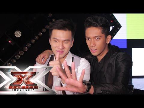ALDY & RAMLI - EXIT INTERVIEW - GALA SHOW 10 - X Factor Indonesia 2015