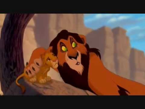 Simba And Scar Pre Stampede Scene Youtube