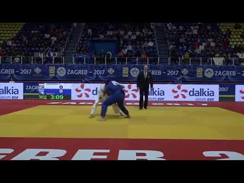 Jaborov Khayom TJK-BIH Galik Ante Juniors Zagreb 2017