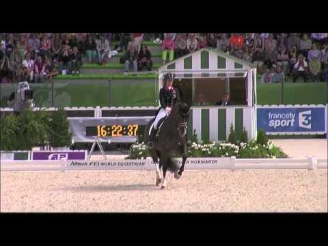 Charlotte Dujardin - World Champion - Alltech FEI World Equestrian Games 2014