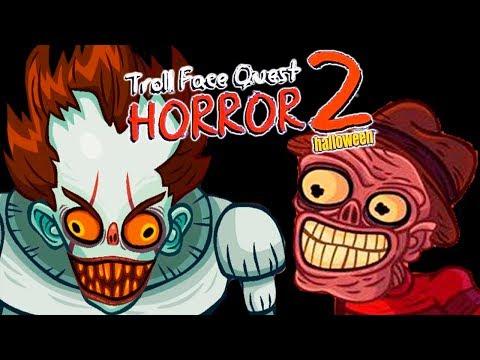 Тролим монстров из фильмов ужасов ◉ Troll Face Quest Horror 2: