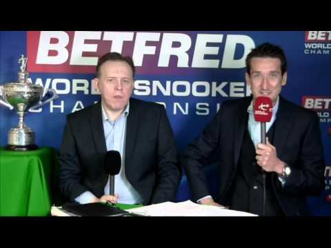 2016 Betfred World Snooker Championship Judgement Day (Day two) - LIVE from Sheffield