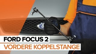 Wie FORD FOCUS II (DA_) Stabistrebe austauschen - Video-Tutorial