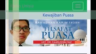 Download Video Ust. Dr. Fahruddin Faiz: Kewajiban Puasa MP3 3GP MP4