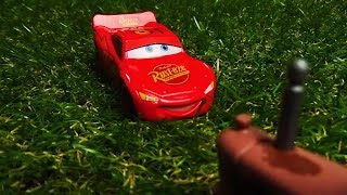Cars 1 Tractor Tipping Scene Remake! Stop Motion Animation Dis…
