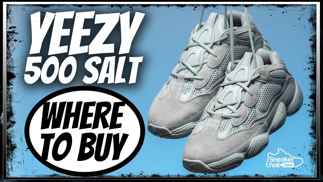 b05e43f01 WHERE TO BUY ADIDAS YEEZY BOOST 500 SALT RAFFLE AND RELEASE LIST IN  DESCRIPTION