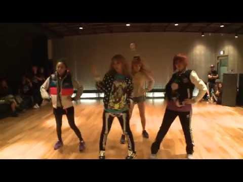 "2NE1 ""I AM THE BEST"" Choreography Practice (Uncut Ver.)"