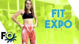 I Ate Everything at the LA Fit Expo 2019 FITNESS OUTRAGEOUS!