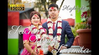 Download Video NEPALI WEDDING 2019 | SACHIN WEDS SUSMITA| NEPALI WEDDING SONG 2019 | Wedding Highlights 2019 | HD | MP3 3GP MP4
