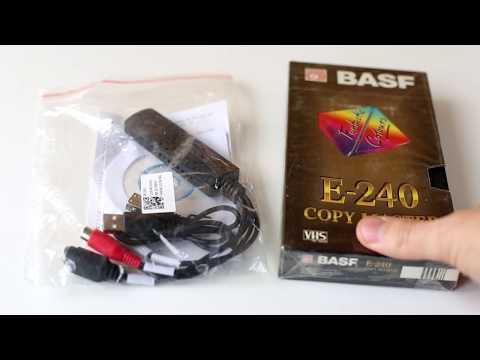 USB карта видеозахвата EasyCap для оцифровки аналогового TV сигнала. Обзор, настройка.