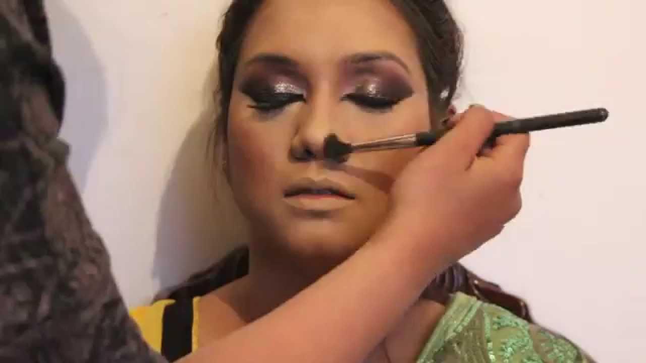 Mehndi Makeup Zara : Mehndi bride makeup tutorial by zara hussain youtube