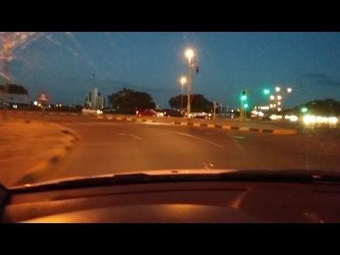 Ride with Me: Gaborone, Botswana CBD(Central Business District) @ night