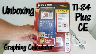 TI 84 Plus CË Calculator Unboxing