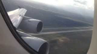 Singapore Airlines Airbus A380-800 Take Off from Frankfurt am Main International Airport